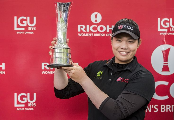 Ariya Jutanugarn becomes first Major Champion from Thailand   Ariya Jutanugarn made history on the Marquess Course at Woburn by becoming the first player from Thailand  male or female  to capture a Major Championship at the Ricoh Womens British Open.  With rounds of 65 69 66 and 72 the 20-year-old from Bangkok ended on a total of 16-under-par 272 three ahead of South Korean Mirim Lee and the 2014 champion Mo Martin from the United States.  Another former American champion Stacy Lewis…