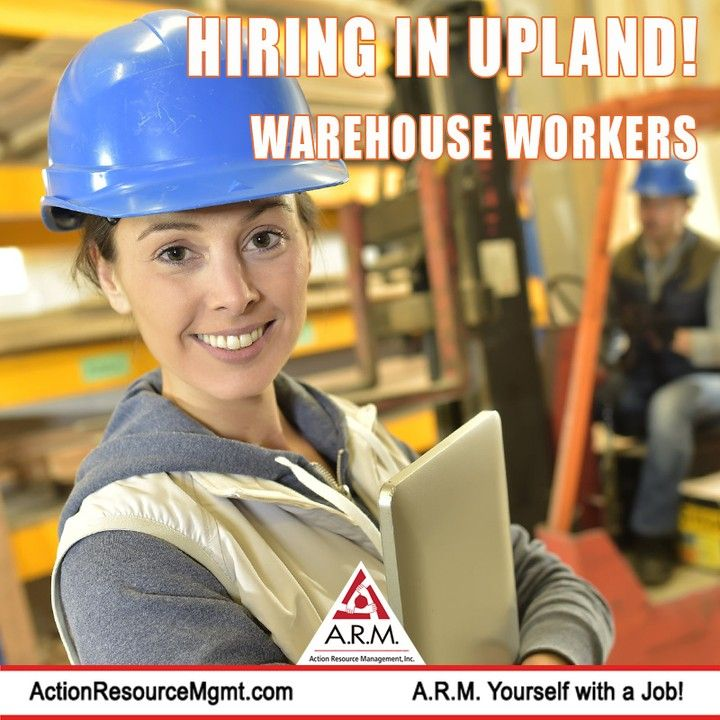 Hiring Warehouse Workers Apply Today Picker Packers General Warehouse Workers Needed In Upland Follow Our Profile Warehouse Jobs Job Seeking Job Opening