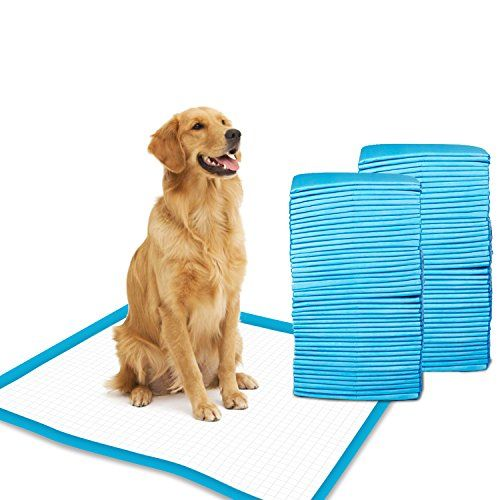 Gardner Pet Super-Absorbent 24 by 24 Inches Dog Training Pads - 50 Count of Pads.