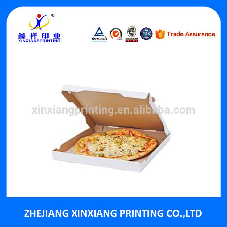 Wholesale Custom Corrugated Paper Pizza Box Pizza Packing Boxes