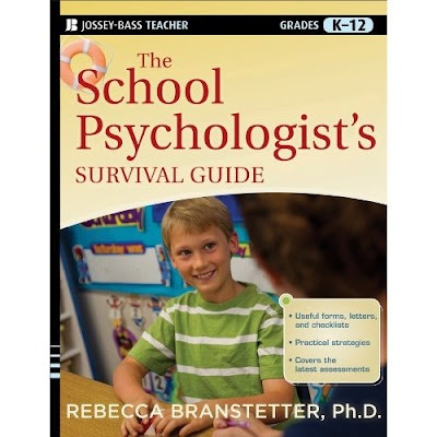 GREAT book for all school psychs. Incredibly practical and easy to use templates