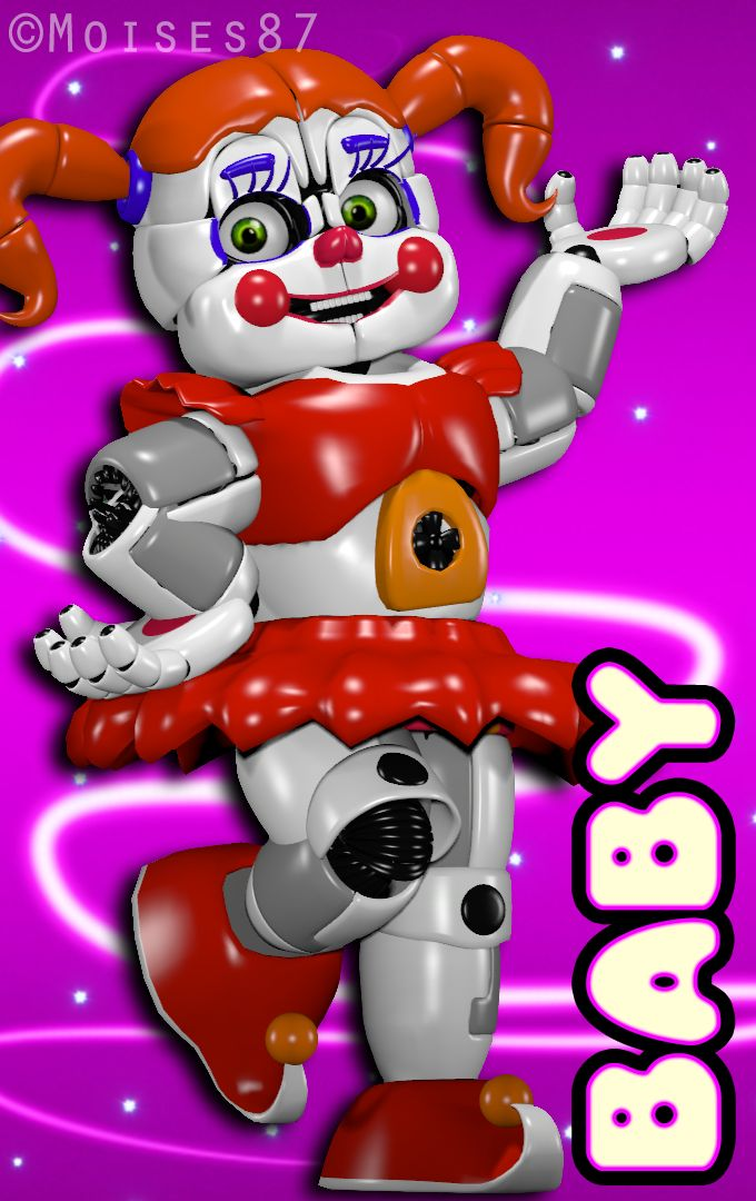 Baby /SL by RukiaAngle on DeviantArt TOTAL FNAF FAN