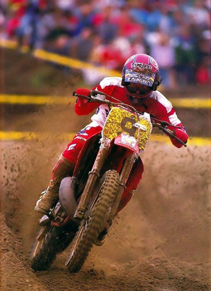 Eric Geboers. Motocross