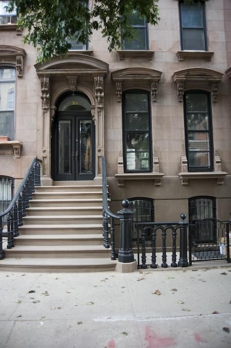 318 best images about my brownstone on pinterest for Modern townhouse exterior