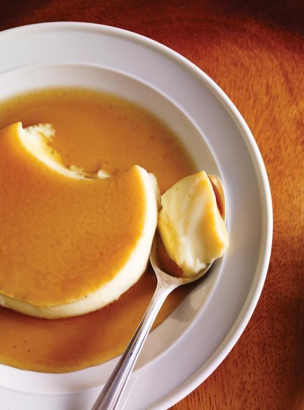 Recette de Ricardo de crème caramel à l'érable
