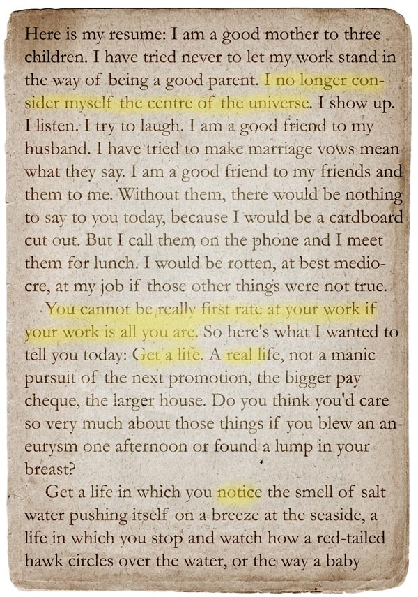 """ A Short Guide to a Happy Life"" by Anna Quindlen.. everyone should have a copy on their nightstand or coffee table"