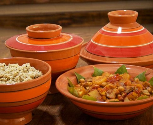 Tagine of lamb knuckle with tomato http://www.eatout.co.za/recipe/tagine-of-lamb-knuckle-with-tomato/