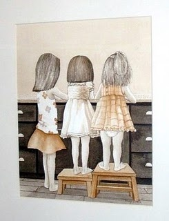 Love this picture ... Looks like me and my two youngers sisters <3