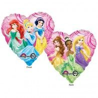 45cm Princess Garden Heart, $9.95 (filled with Helium in Store), U26399