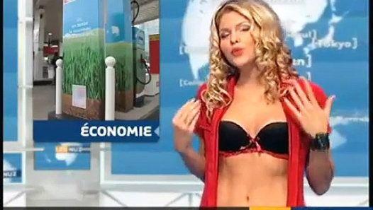 Regarder la vidéo «Quand Célyne Durand se déshabillait à la télé pour la météo» envoyée par Jeanmarcmorandini.com sur…