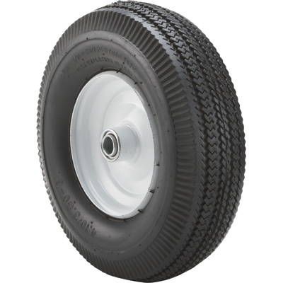 Marathon Tires Pneumatic Wheelbarrow Tire — 3/4in. Bore, 4.10/3.50-6in. | Buy Item# 14726 now for only $19.99