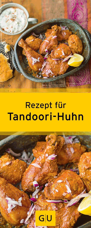 """Leckeres Rezept für Tandoori-Huhn aus dem Buch """"Indisch kochen"""". ⎜GU"""