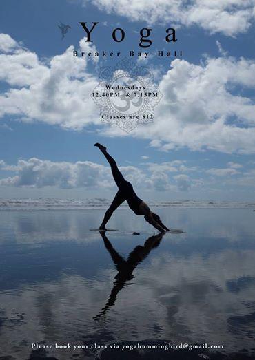 Beach Yoga Practice Heaven and Earth eka pada adho mukha svanasana