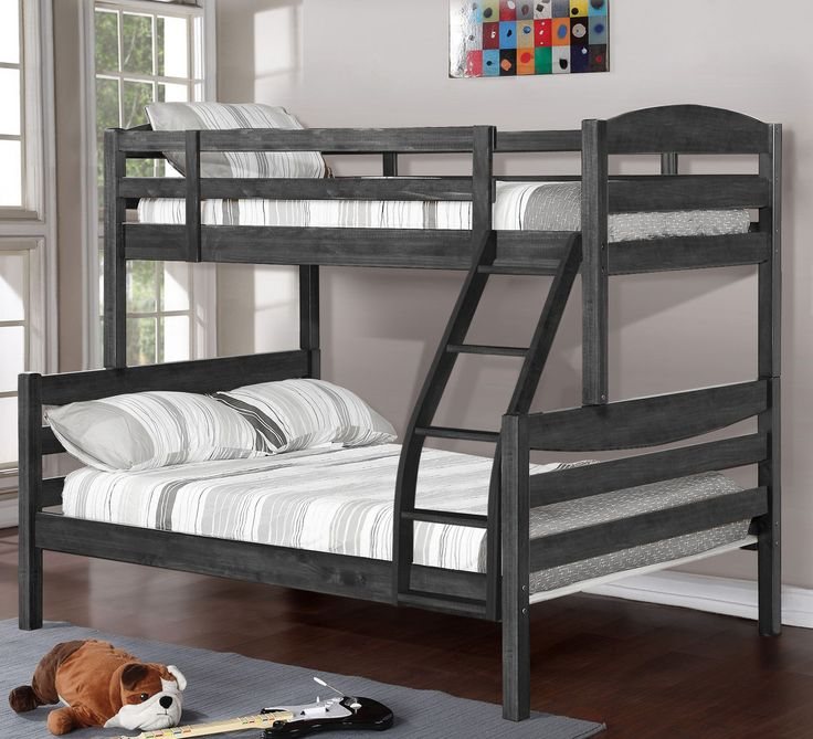 alissa twin over full bunk bed
