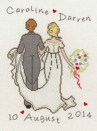 Happy Ever After Cross Stitch Kit By Bothy Threads