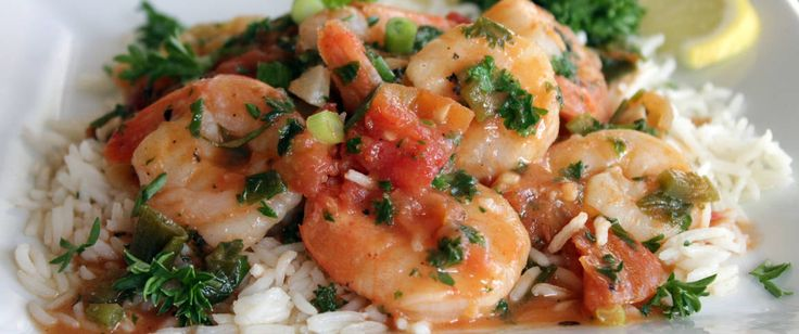 Chopped jalapeño pepper provides the heat for our 20-minute spicy shrimp scampi  made with fresh herbs and Muir Glen organic tomatoes.