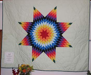613 best craftystuffz images on Pinterest | Star blanket, American ... : lakota star quilts - Adamdwight.com