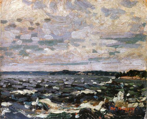 Tom Thomson - Parry Sound Harbour 1914