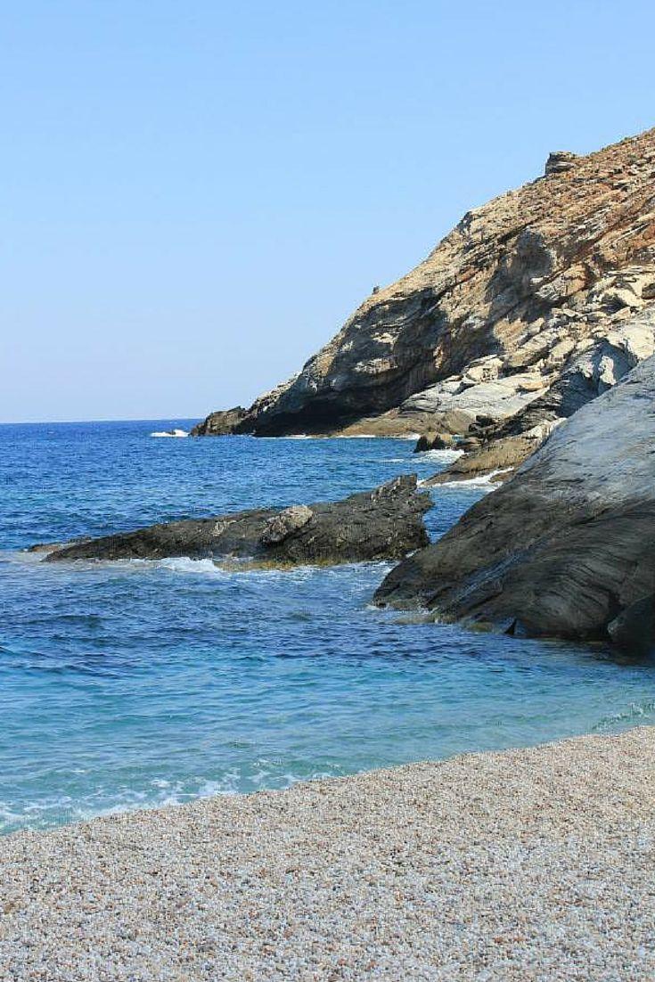 Zorkos beach, Andros island, Greece #ihavethisthingwithgreekbeaches #Greece