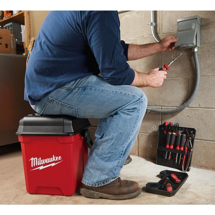 Milwaukee 13 in jobsite work tool boxmtb1400 in 2020