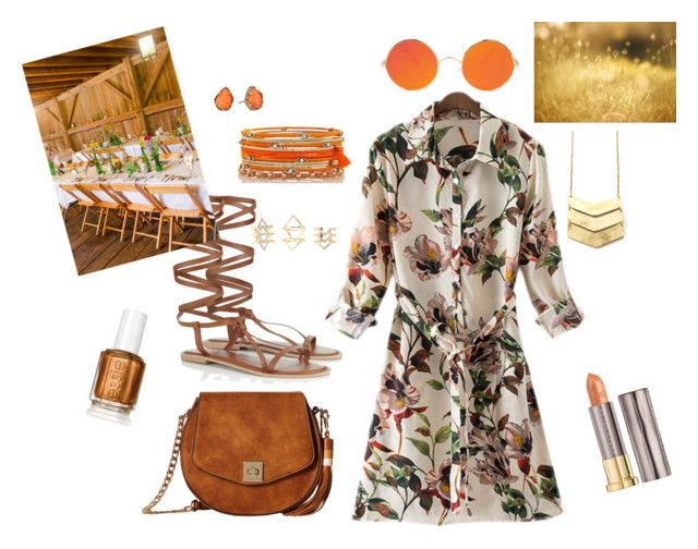 """Country."" by isabell-zanoletti on Polyvore featuring moda, Gabriella Rocha, Lipsy, Kendra Scott, Charlotte Russe, Urban Decay e country"