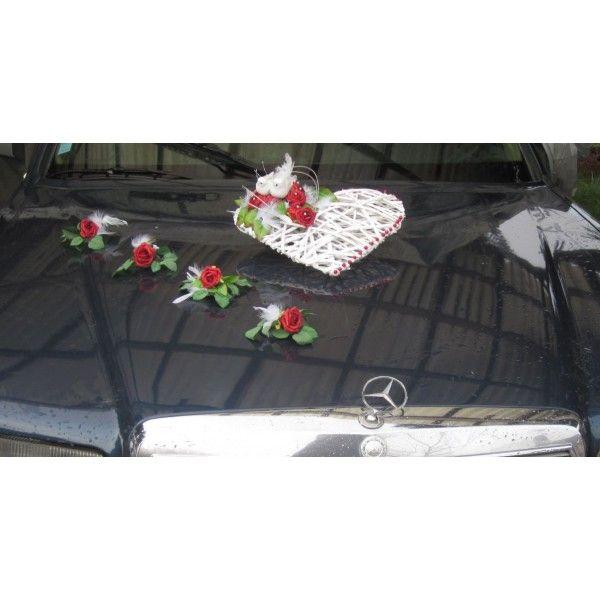 16 best decoration voiture mariage images on pinterest car decorating coeur d 39 alene and - Decoration voiture de mariee ...