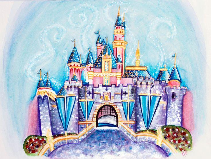 Disneyland Castle By ItsEmmVee On DeviantArt