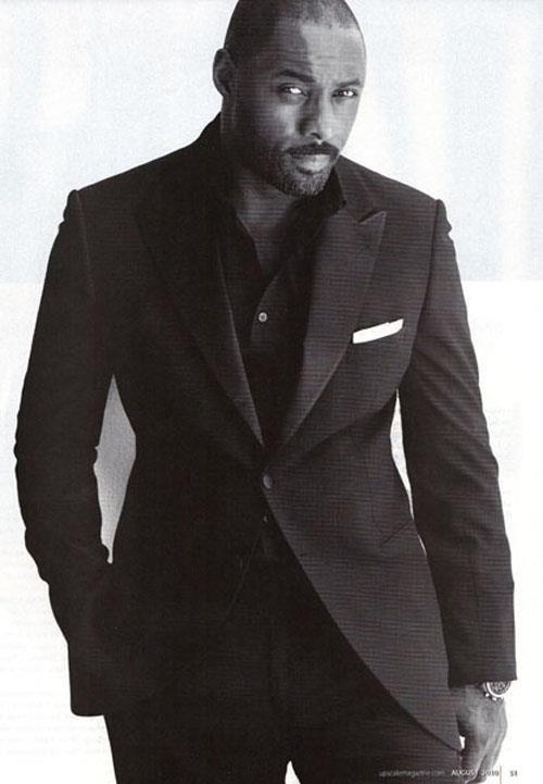 This guy - gorgeous! Idris Elba. One handsome black man.