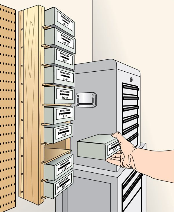 Screw-Box Shelving Storage Unit Woodworking Plan, Shop Project Plan | WOOD Store