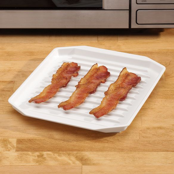 Microwave Bacon Tray - Zoom
