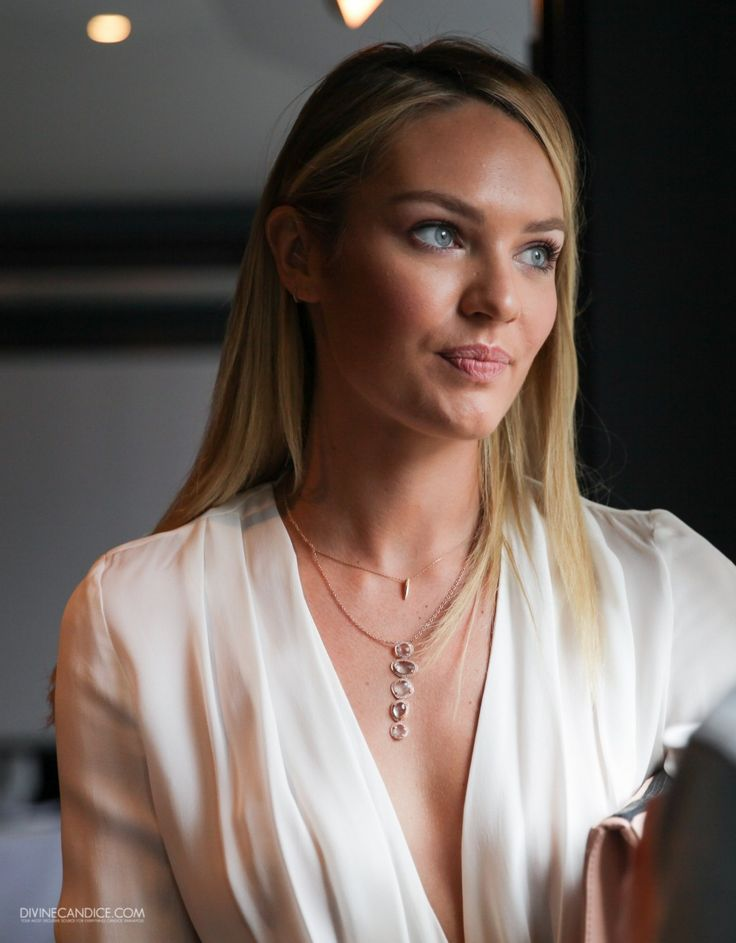 "Candice Swanepoel -- the ""Don't fuck with me"" look"