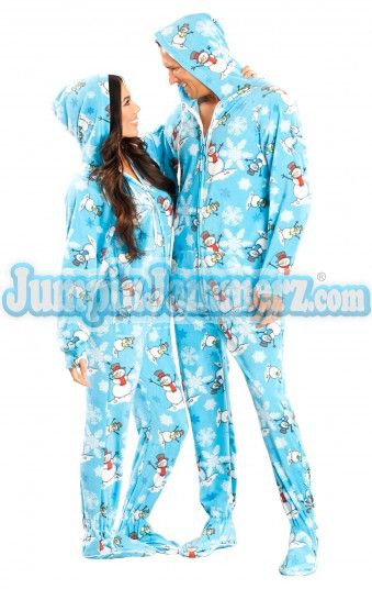 Christmas Footed Pajamas