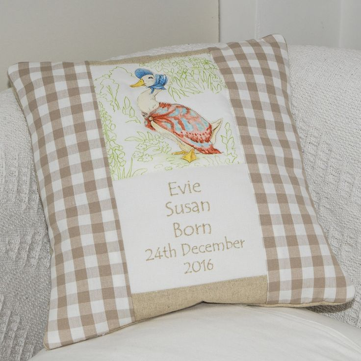 Beatrix Potter© Occasion Cushion Natural