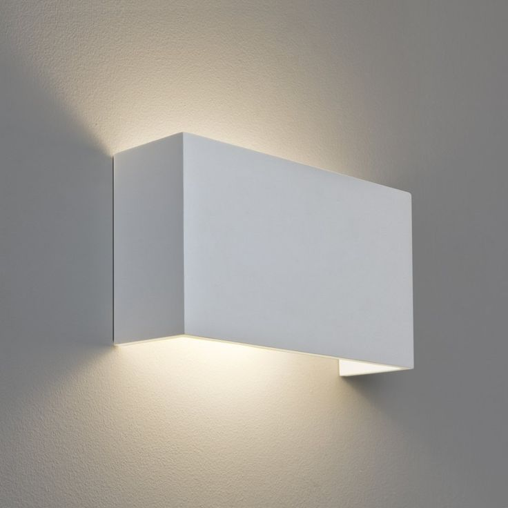 Simple and unobtrusive, the Pella plaster wall lamp will add light without changing the room design. Description from netlighting.co.uk. I searched for this on bing.com/images