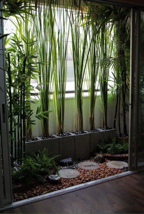 Verrijdbaar; In de zomer tegen het felle licht vanuit het raam, in de winter tegen de verlicht muur zodat er groenig licht door de planten heen komt (Misschien in de slaapkamer??)