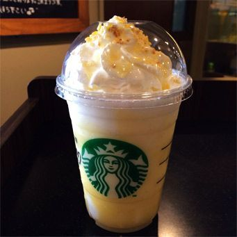 Lemon Bar Frappuccino - 11 NEW Starbucks Secret Menu Frappuccinos to Try During Frappuccino Happy Hour