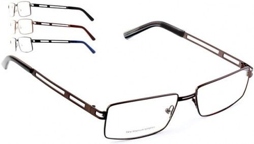 Full metal #frame front, flexi titanium temples, two tone colouring temples and tips