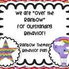 Rainbow Themed Behavior Management Plan This set includes a behavior contract including expectations, positive consequences, hot air balloon star