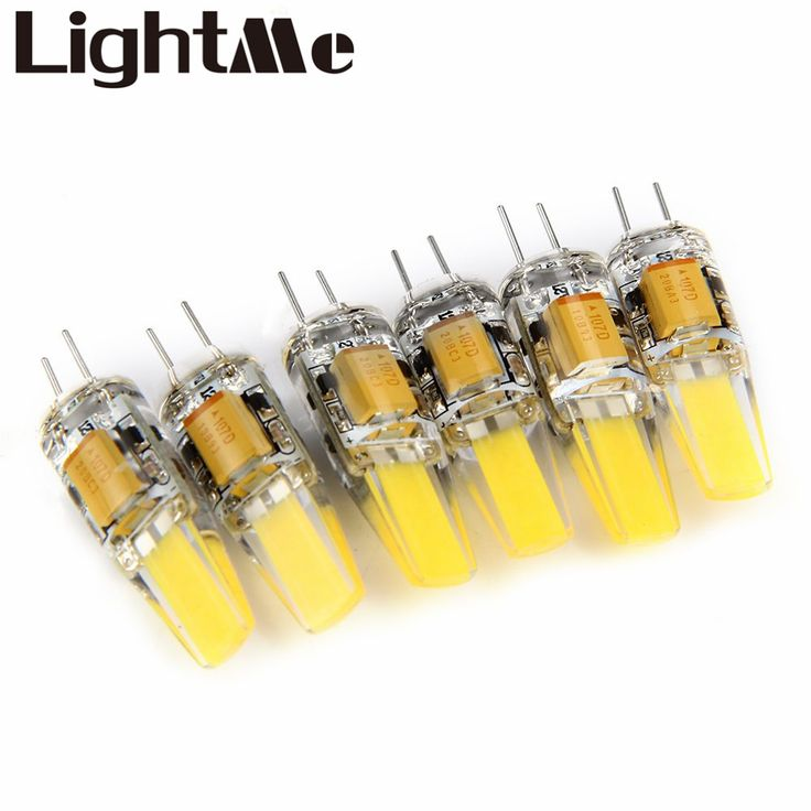 ==> [Free Shipping] Buy Best High Quality 6pcs 6W Dimmable G4 LED Lamps DC AC 12V COB Bulb Chandelier White Light Energy Saving LED Light Bulbs Beads 1636293 Online with LOWEST Price | 32700111226