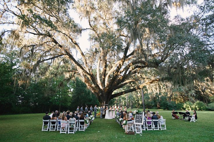 Eden Garden State Park, Santa Rosa Beach, FL - Real Wedding