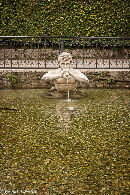 The Hellbrunn Palace and #Gardens in #Salzburg,#Austria www.casualtravelist.com