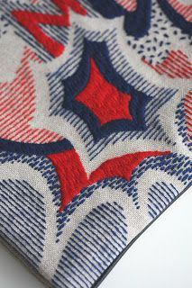 CRESUS artisanat: new arrival :: wool embroidery clutch 2 kinds