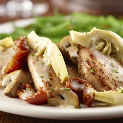 Nice image showing napa grilled chicken