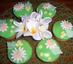 Tropische Cupcakes met Ananas en Kokosnoot