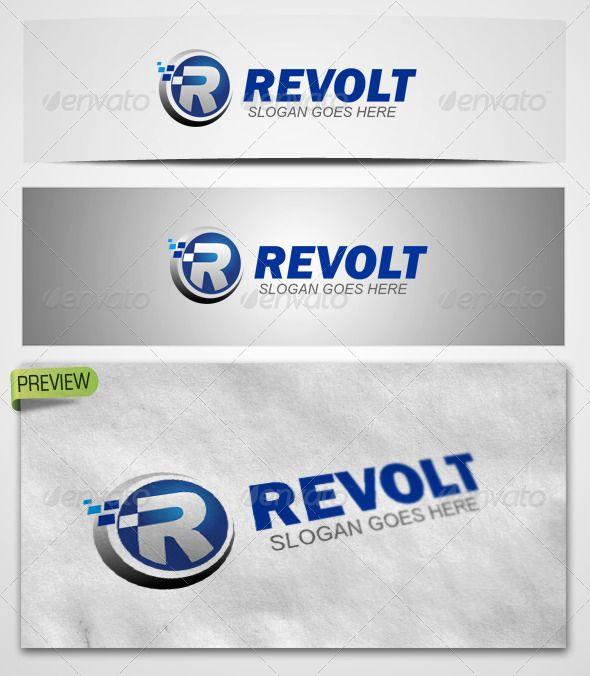 48 best logo templates images on pinterest logo templates font logo revolt templates pronofoot35fo Gallery