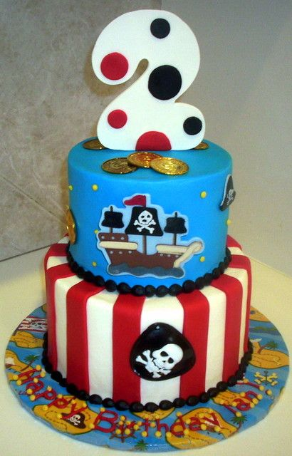 Birthday Pirate Cake