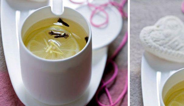d tox citron chaud au gingembre et au miel recette boisson mincir et remede. Black Bedroom Furniture Sets. Home Design Ideas