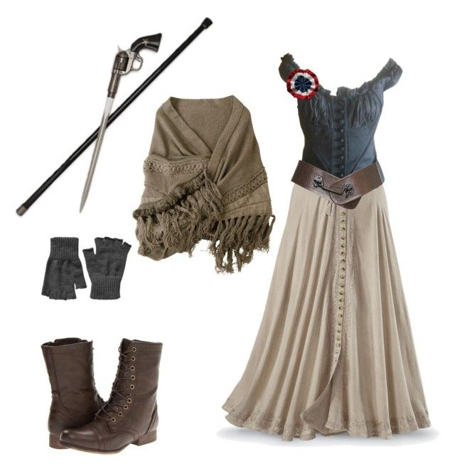 """Les Miserables"" by rebellious-ingenue ❤ liked on Polyvore"