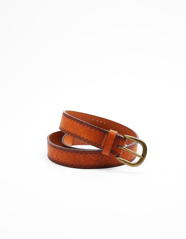 Belts - ACCESSORIES - WOMAN - Bershka United Kingdom