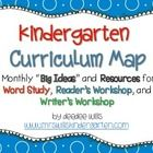 Curriculum Maps are a great way to organize your instructional thinking for the year.  This freebie included a year long plan for your word study (...